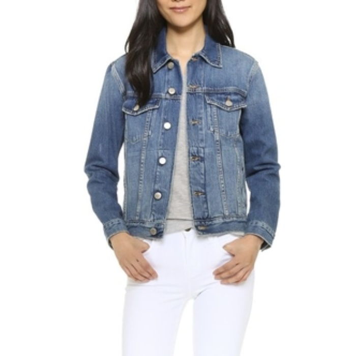 Best Denim Jackets for Cool Summer Nights - FRAME Le Original Jacket