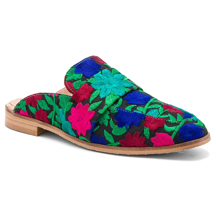 Best Embroidered Shoes - Free People At Ease Loafer