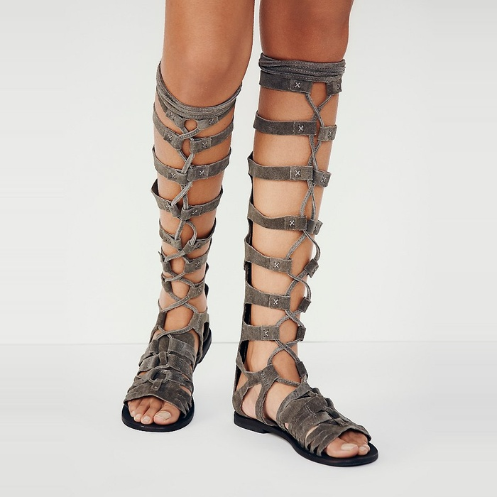 Best Gladiator Sandals Under $200 - Free People Cypress Tall Sandal