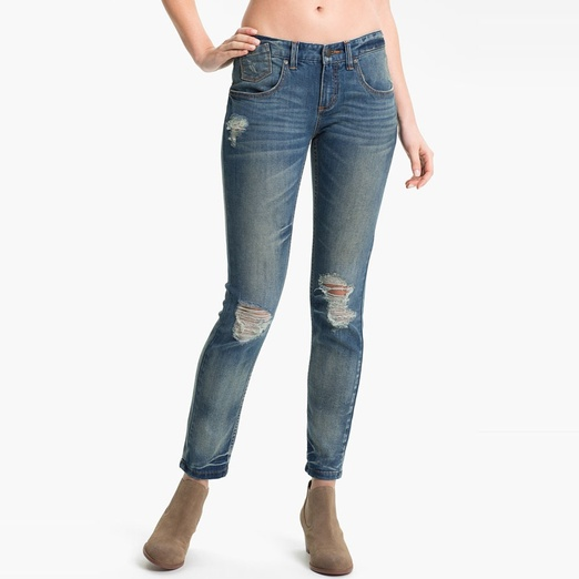 Best Ripped Jeans - Free People Destroyed Skinny