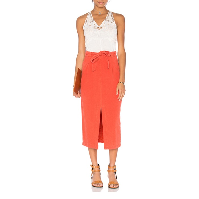 Best Midi Skirts Under $200 - Free People Easy Breezy Skirt