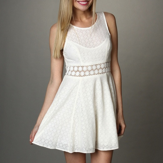 Best White Dresses - Free People Fitted With Daisies Dress