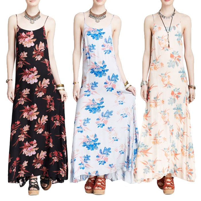 Best Printed Dresses Under $100 - Free People Go To Printed Star Chasing Slip Dress