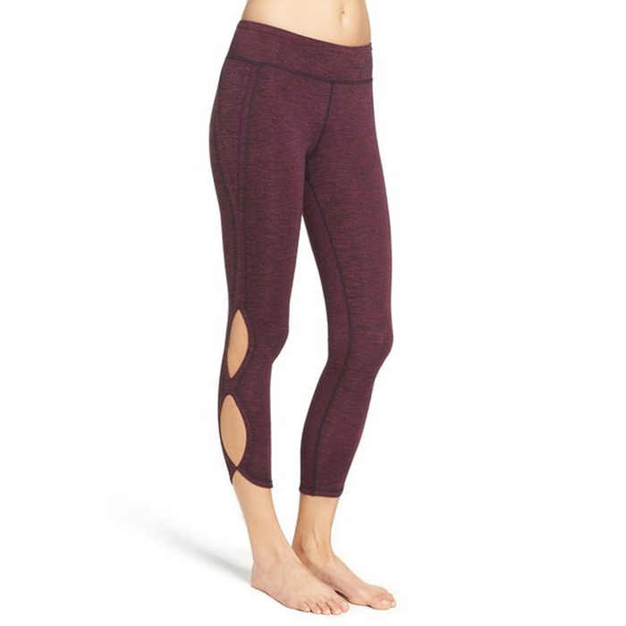 Best Yoga Pants Under $100 - Free People Infinity Cutout Crop Leggings