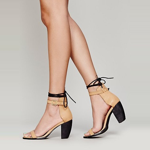 Best Date Night Sandals - Free People La Veranda Heel