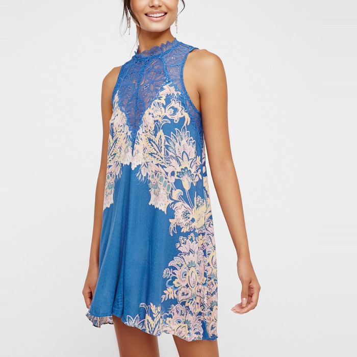 Best Mini Dresses - Free People Marsha Printed Slip