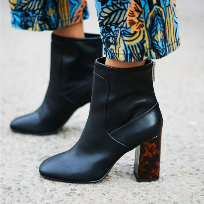 Best Block Heeled Booties Under $150 - Free People Modern Days Heel Boot
