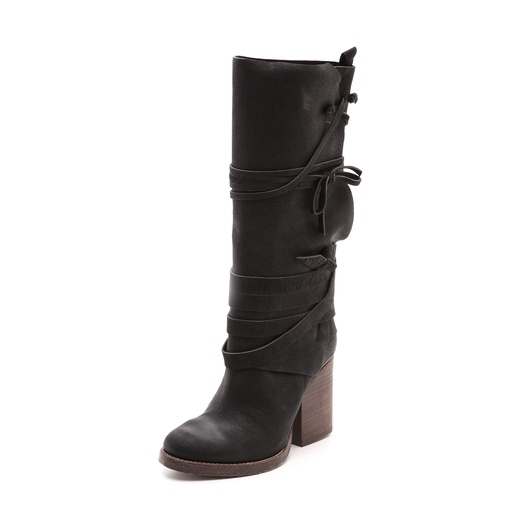 Best Fall Boot Preview...Shoes to Watch and Want - Free People Royal Rush Wrap Boot
