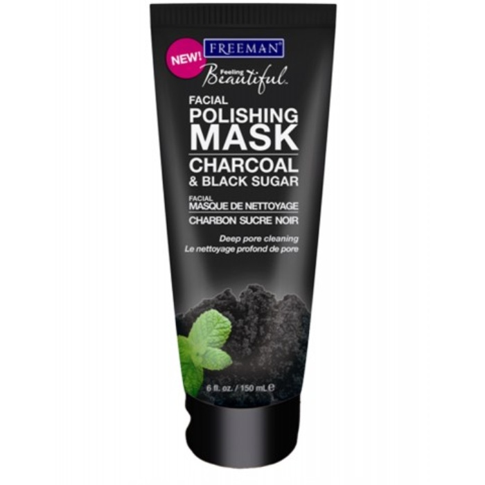 Best Charcoal Face Masks - Freeman Charcoal & Black Sugar Facial Polishing Mask