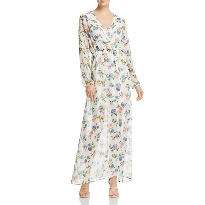 Best Floral Maxi Dresses - Freeway Floral-Print Maxi Dress