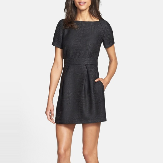 Best Work Dresses Under $200 - French Connection Crocodile Pattern Dress