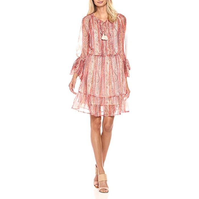 Best Transitional Dresses - French Connection Malika Sheer Dress