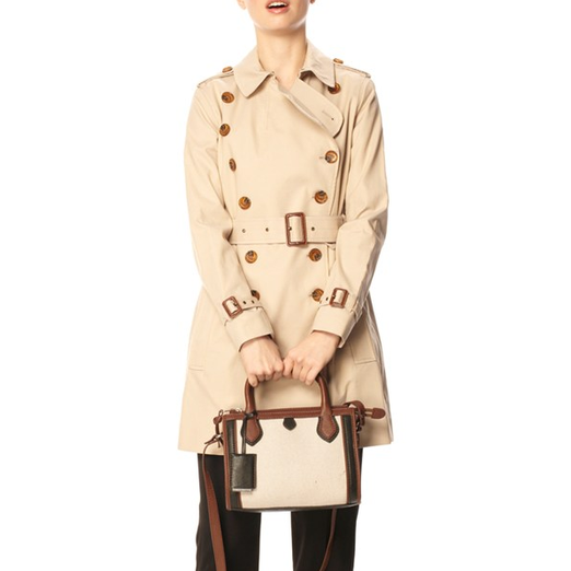 Best Trench Coats - French Connection Smart Catch Belted Trench Coat