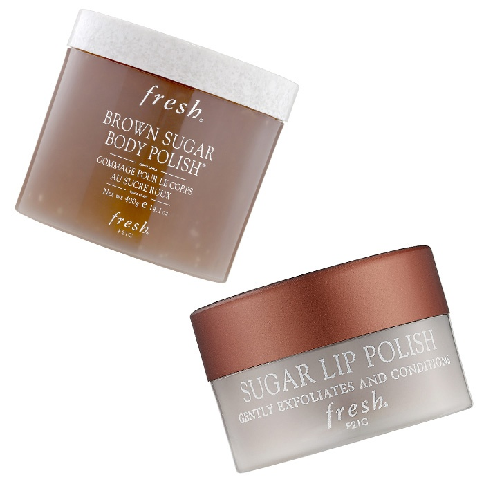 Best Ten ways to treat your Valentine - Fresh Brown Sugar Body Polish and Sugar Lip Polish