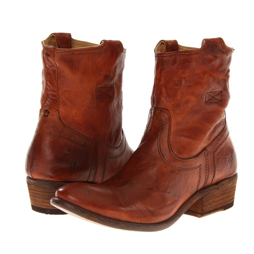 Best Brown Ankle Boots - Frye Carson Tab Booties
