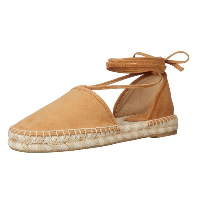 Best Nude Shoes For Summer - Frye Leo Two-Piece Espadrille Flat