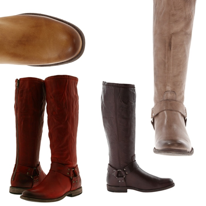 Best For the Preppy Girl - Frye Phillip Harness Tall Boots