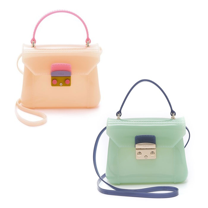 Best Mini Cross Body Bags Under $250 - Furla Candy Bon Bon Mini Bag and Mini Cross Body Bag