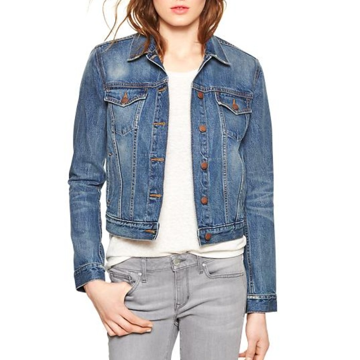 Best Denim Jackets - Gap 1969 Denim Jacket