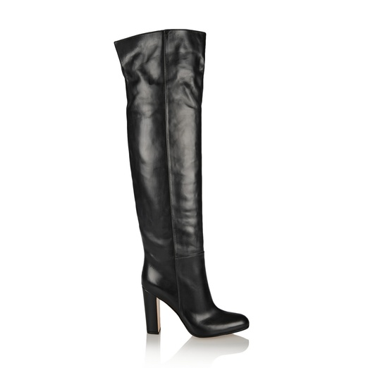 Best Fall Boot Preview...Shoes to Watch and Want - Gianvito Rossi Leather Knee Boots