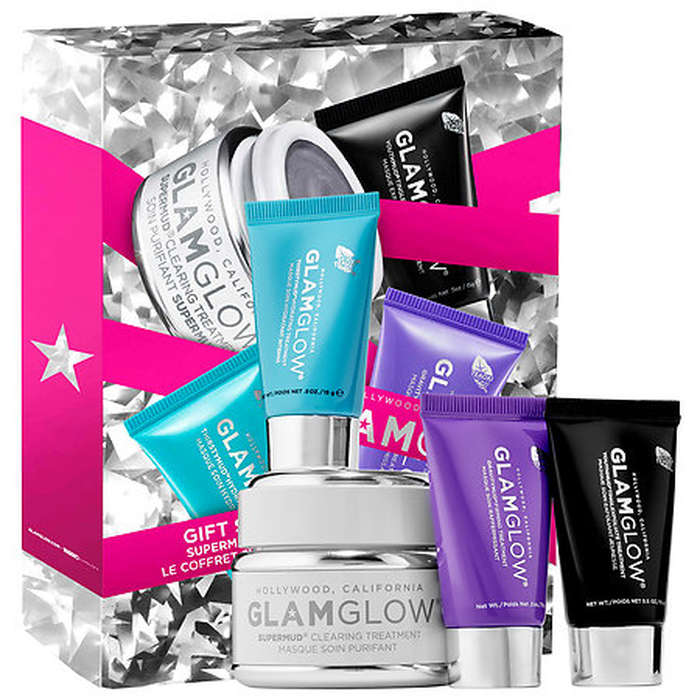 Best Skincare Gift Sets - GlamGlow Let it Glow! SUPERMUD Set