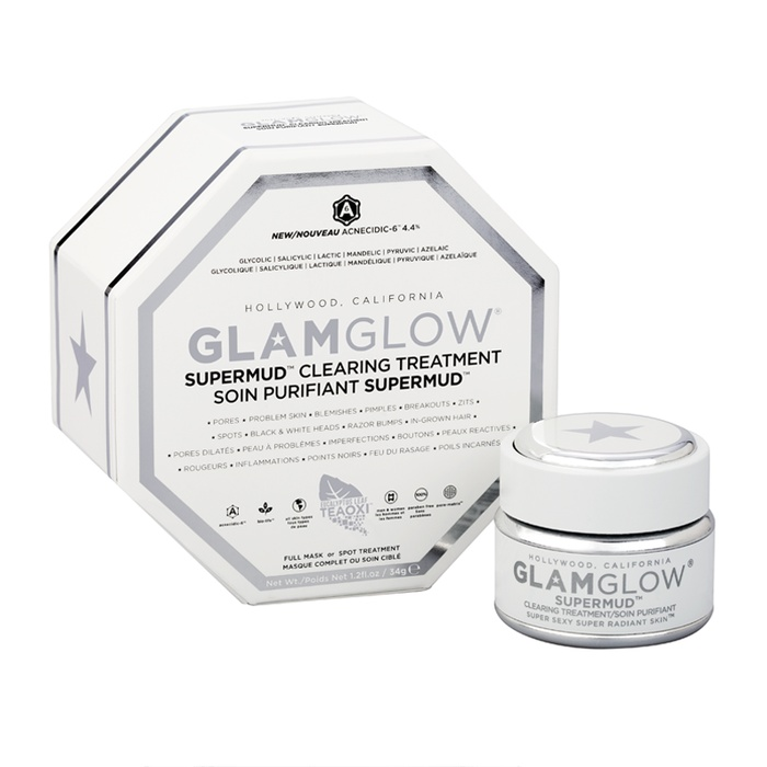 Best Charcoal Face Masks - GlamGlow Supermud Clearing Treatment