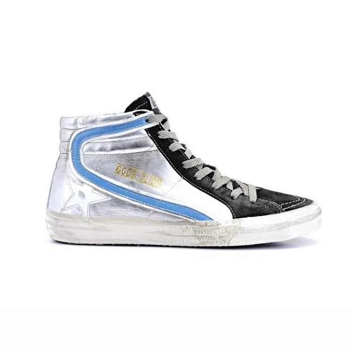 Best Winter High Tops - Golden Goose Deluxe Brand Slide Mid-Top Leather Trainers