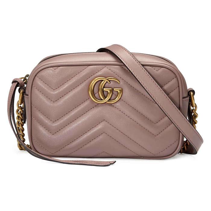 83e867b7fe Gucci GG Marmont 2.0 Matelassé Leather Shoulder Bag