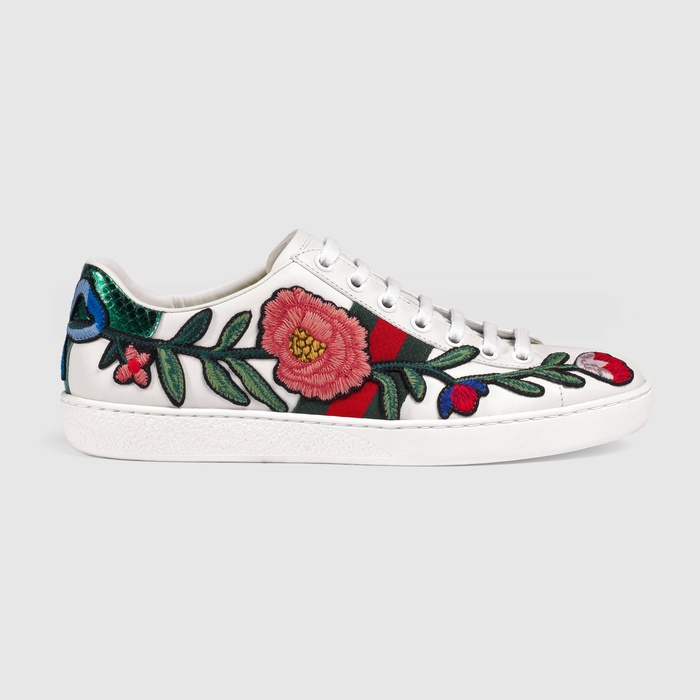 Best Sneakers of 2016 - Gucci New Ace Low Top Sneaker