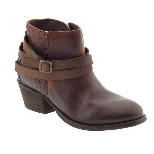 Best Brown Ankle Boots - H by Hudson Horrigan Wrap Strap Booties
