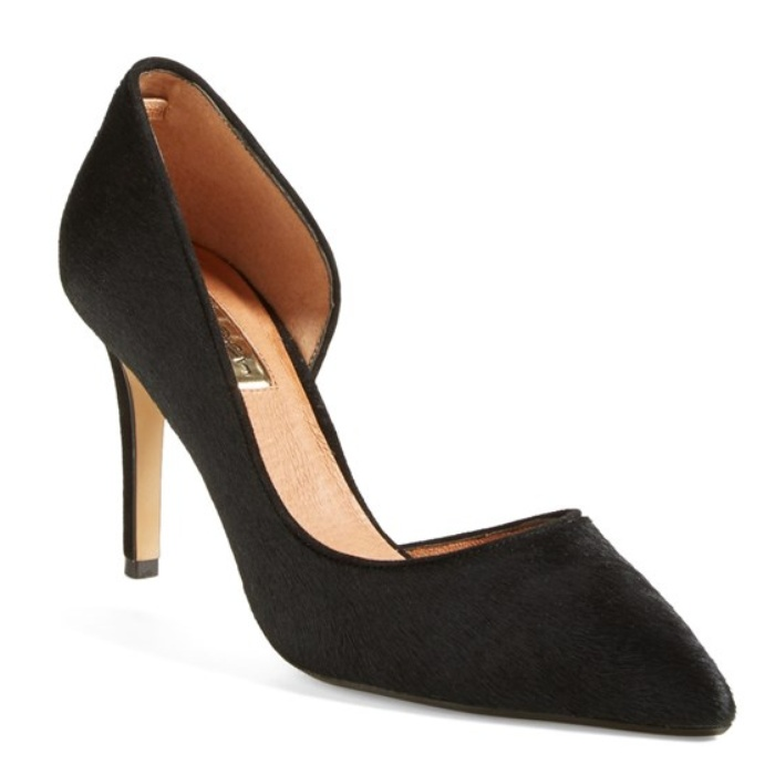 Best D'Orsay Pumps - Halogen 'Marlie' Calf Hair Pointy Toe Pump