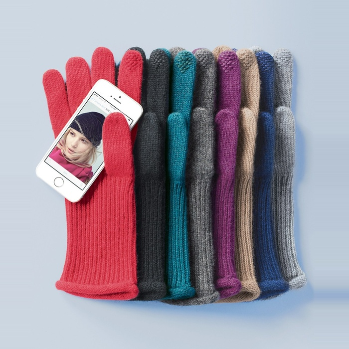 Best Hats & Gloves - Halogen Touch Tech Cashmere Gloves