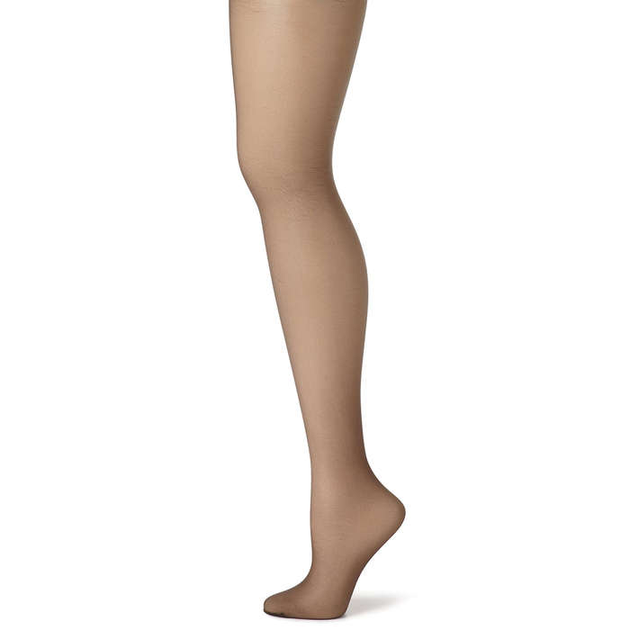 a441e338c3 ... Graduated compression through legs; Targeted tummy and thigh  contouring. #9. Hanes Silk Reflections Control Top Pantyhose