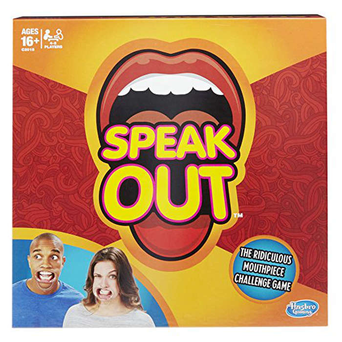 Best Game Night Games - Hasbro Speak Out Game English