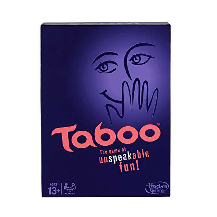 Best Game Night Games - Hasbro Taboo Board Game