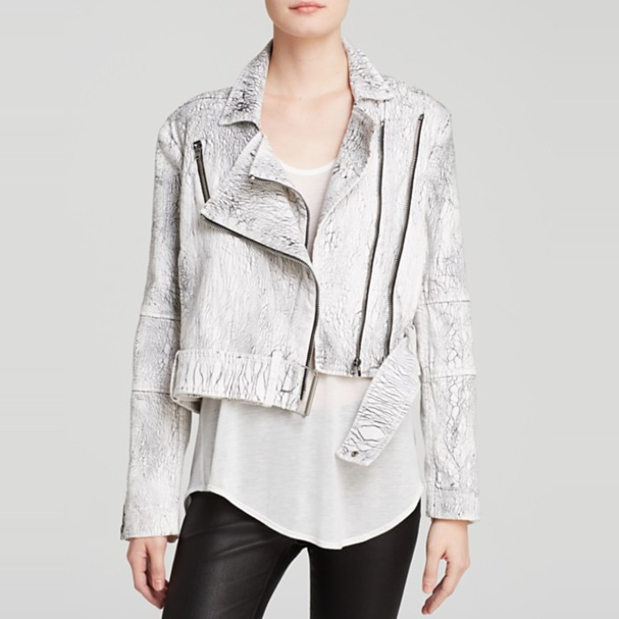 Best Spring Jackets - Helmut Lang Lightening Wash Denim Biker Jacket