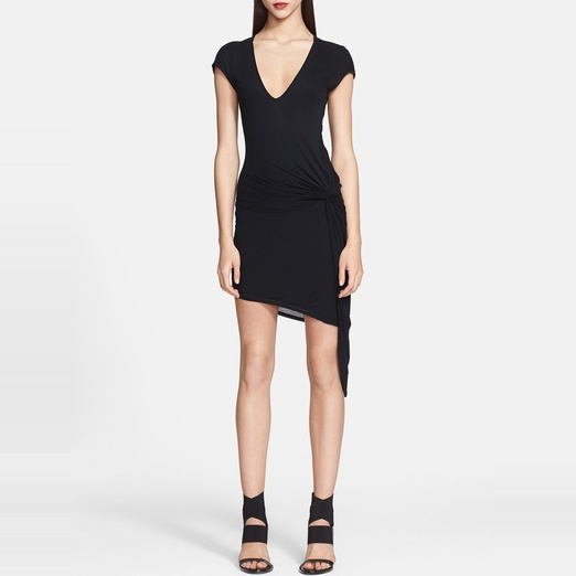 Best Spring LBDs - Helmut Lang Side Detail Jersey Dress