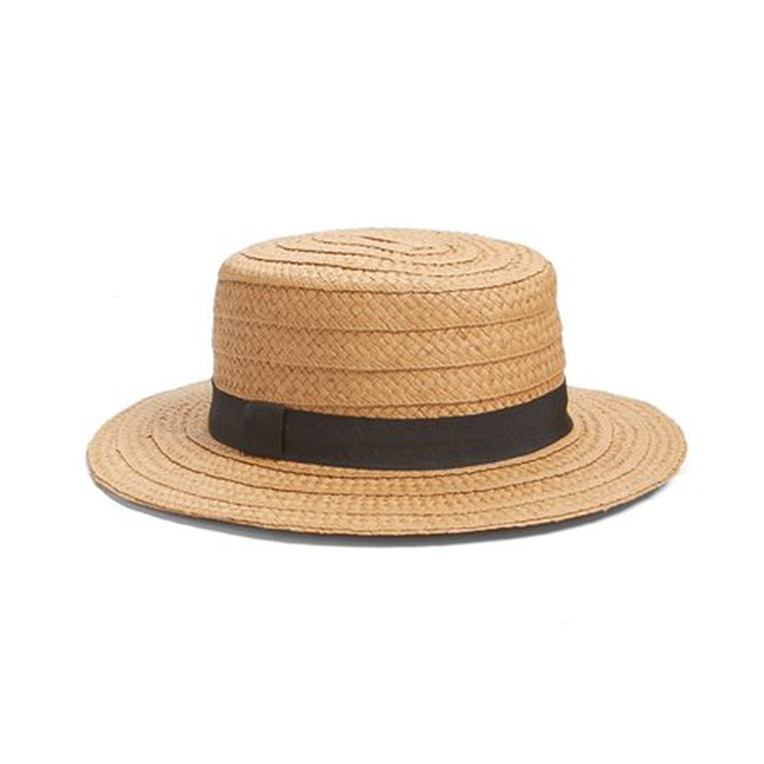 Best Straw Hats - Hinge Straw Boater Hat