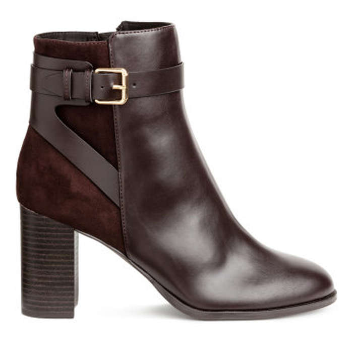 Best Vegan Leather Booties - H&M Ankle Boots