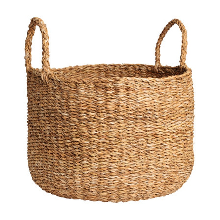 Best Spring Home Accents Under $100 - H&M Large Braided Storage Basket