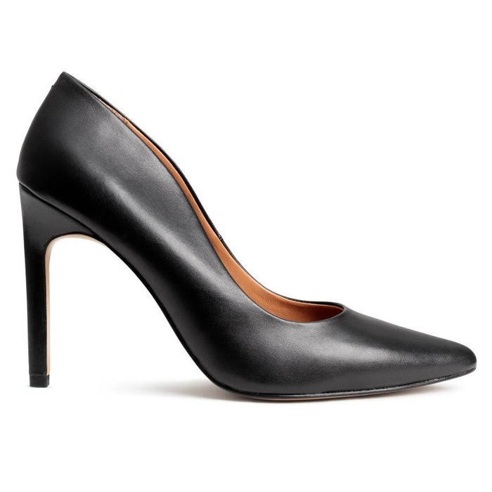 Best Black Pumps Under $100 - H&M Leather Pumps