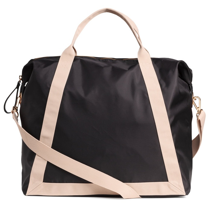Best Weekender Bags Under $100 - H&M Nylon Weekend Bag