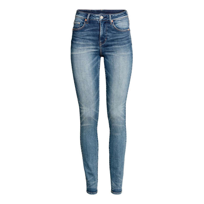 Best Skinny Jeans Under $100 - H&M Skinny High Waist Jeans