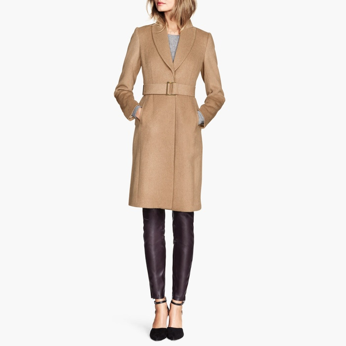 Best Camel Coats - H&M Wool-Blend Coat