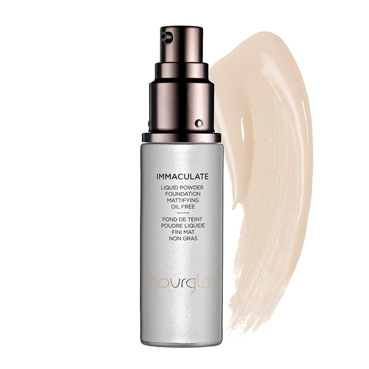 Best Liquid Foundations - Hourglass Immaculate Liquid Powder Foundation Mattifying Oil Free