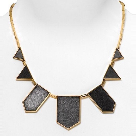 Best Statement Necklaces - House of Harlow 1960 Leather Drop Necklace