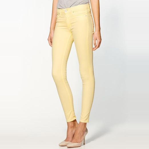 Best Bright Denim - Hudson Jeans Nico Midrise Super Skinny
