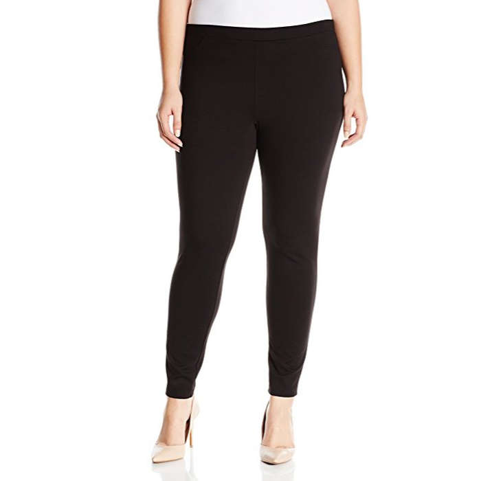 Best Plus Size and Curve Leggings - Hue Women's Ponte Leggings