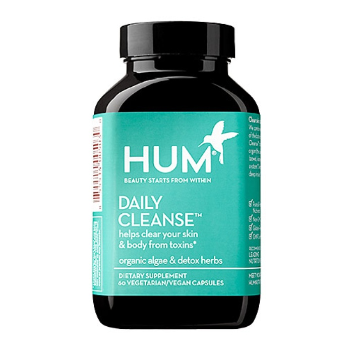 Best Detoxing Beauty Buys - Hum Nutrition Daily Cleanse Supplements