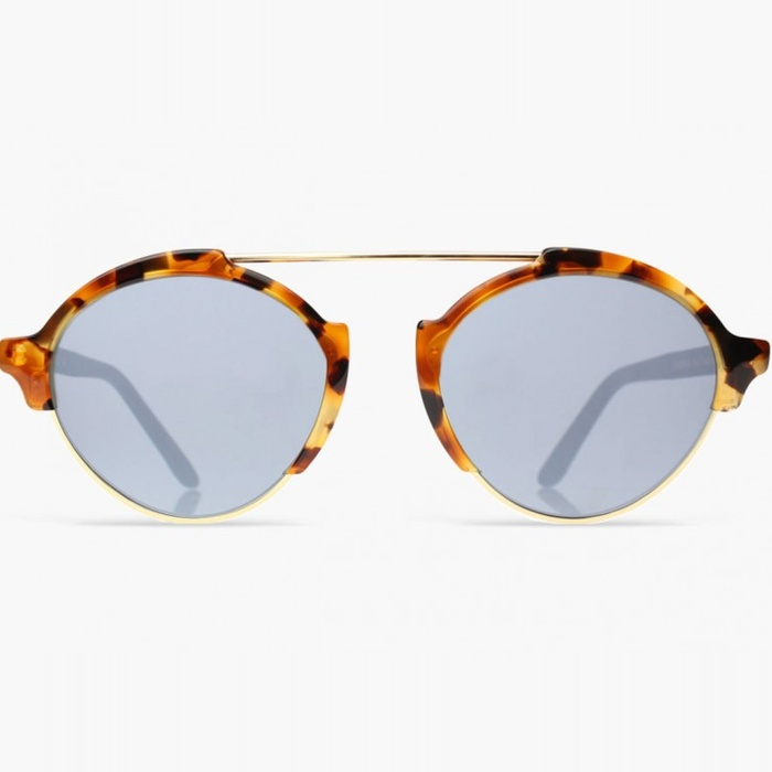 Best Brow Bar Sunglasses - Illesteva Milan III Mirrored Sunglasses
